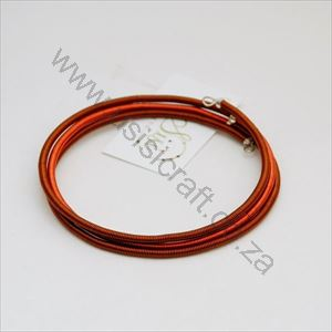 Picture of us74 Bracelet - Wrapped Copper wire - Colour block - 3