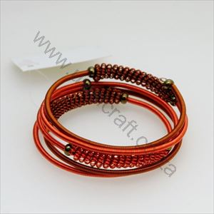 Picture of us71-Bracelet Wrapped Copper - 5 coils