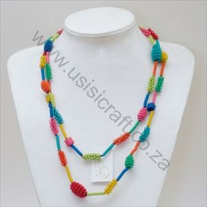 Picture of us858 Necklace - Bobbles and beads
